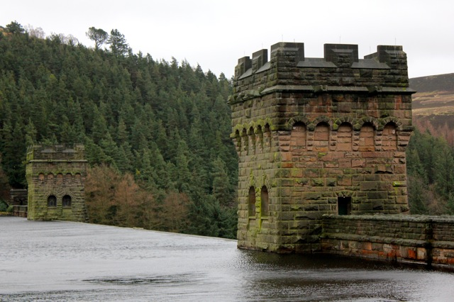 Howden Reservoir Wall in the Peak District