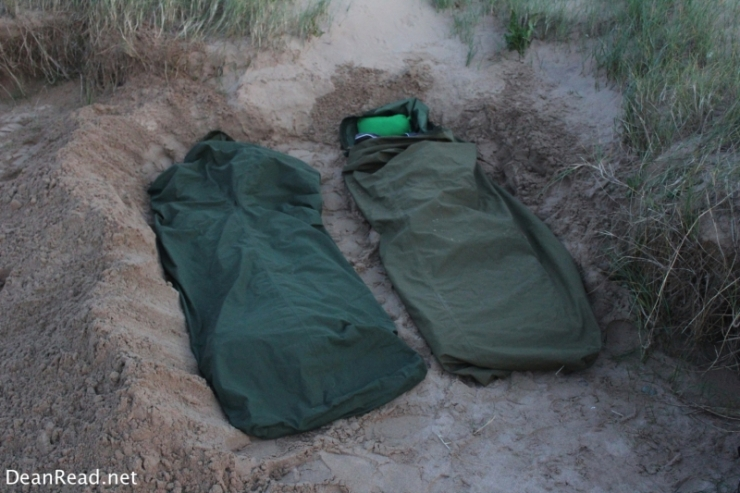2 x Army Issue GoreTex Bivi/Bivy/Bivvy Bags
