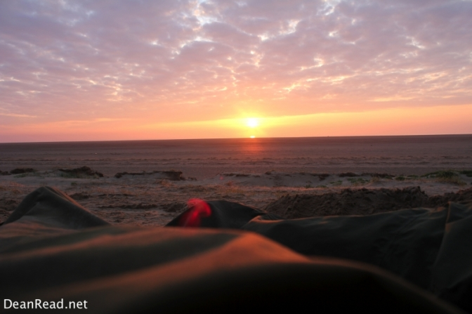 Sunrise from the Bivvy
