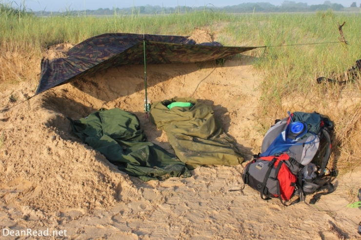 2 x Army Issue Goretex Bivvy Bags and an Issue Tarp