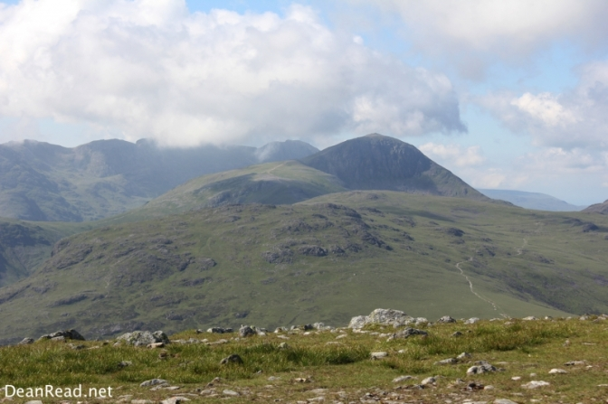 The view to the south from Dale Head