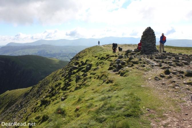 The summit of Peak 3 - Dale Head