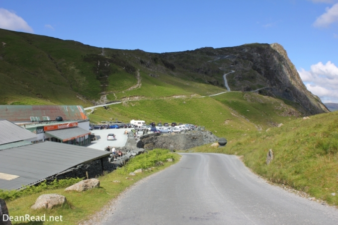 Honister Pass and the Honister Slate Mine