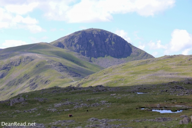 My favourite Lakeland Peak, Great Gable. Not on the list for today though sadly