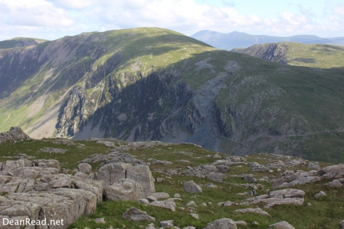 Looking back towards Dale Head from Grey Knotts