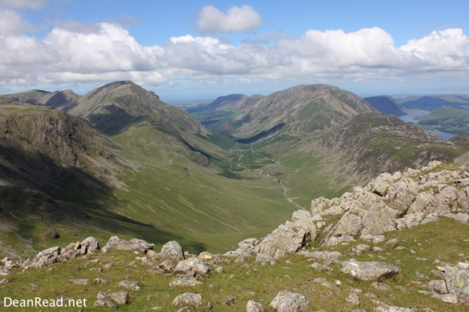 One of the best views in the Lakes? Ennerdale from Green Gable