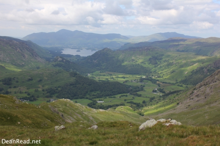 Borrowdale from Thornythwaite Fell