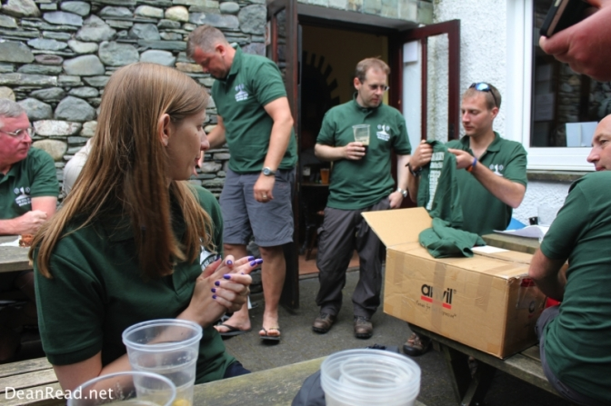 Socialising with Social Hikers in the Scafell Hotel