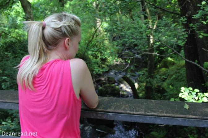 Lisa back at Padley Gorge