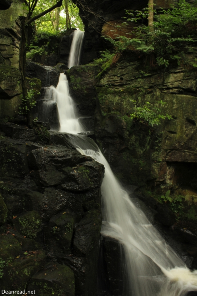 Waterfalls at Lumsdale