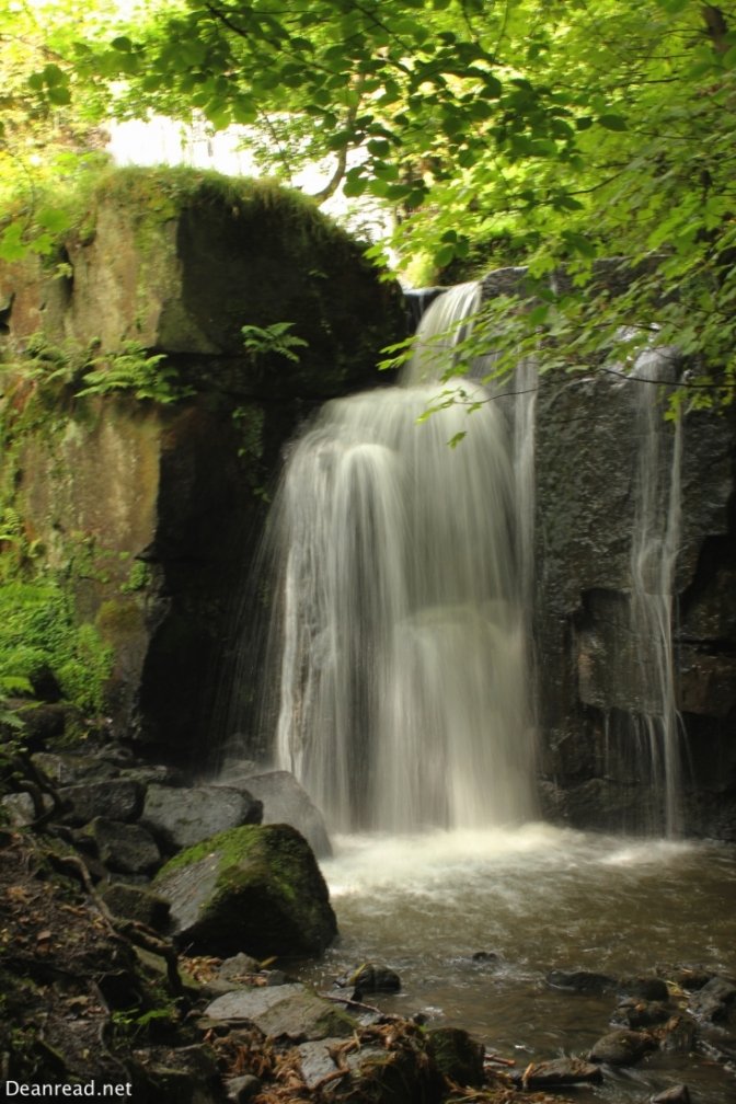 Waterfalls in Lumsdale
