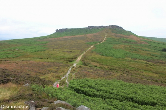Looking towards Higger Tor from Carl Walk
