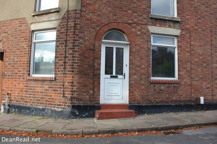 Ian Curtis' Former Home - 77 Barton Street Macclesfield