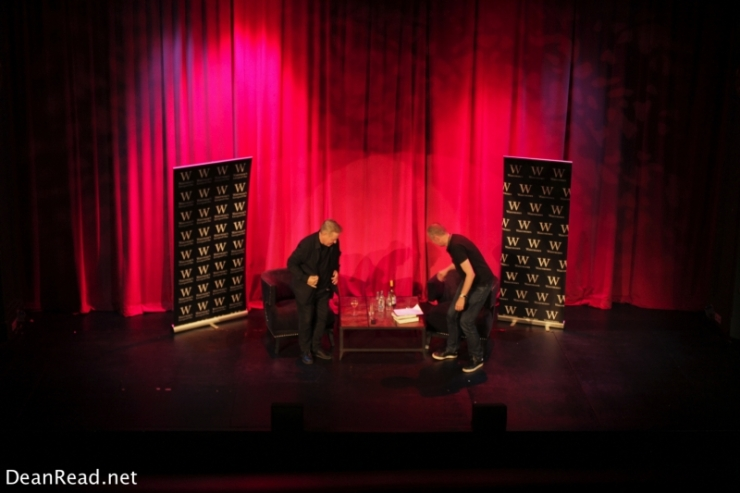 Bernard Sumner at the Epstein Theatre in Liverpool