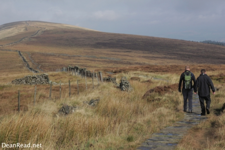 On route to Cats Tor