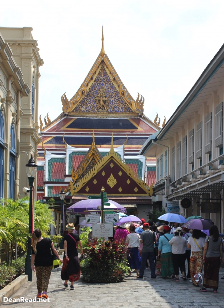 The Grand Palace in Bangkok