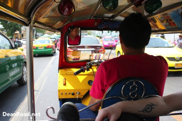 Tuk Tuk Ride to the Reclining Buddha