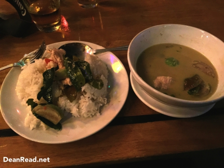 First Thai Green Curry of the Trip