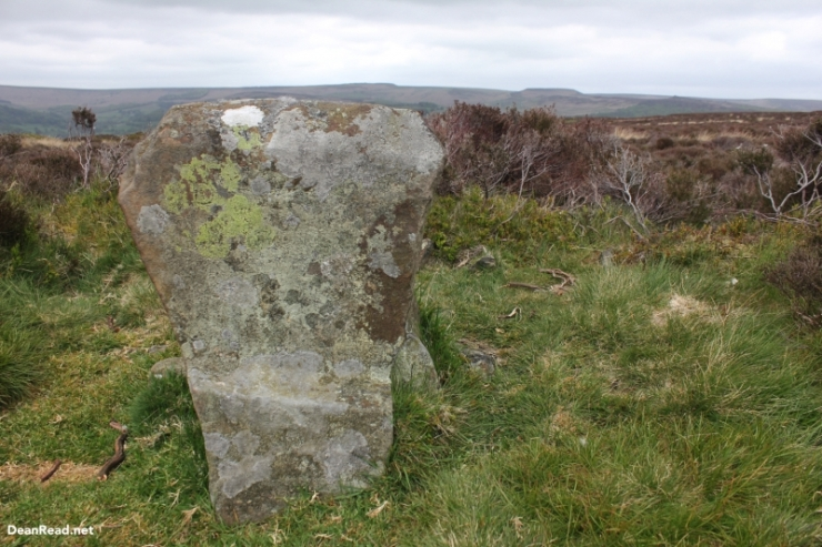 Chair Stone at Wet Withens Stone Circle