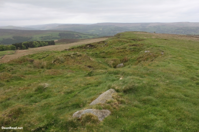 The view from Sir William Hill Trig Point