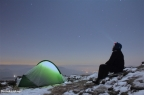 Peak District – Winter Camp at Crookstone Knoll on Kinder Scout