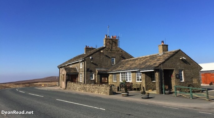 The Cat and Fiddle Inn is the second-highest inn or public house in England (the Tan Hill Inn being the highest