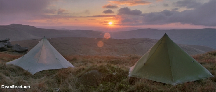 Peak District – Kinder Scout Wild Camp in the Luxe HexPeak