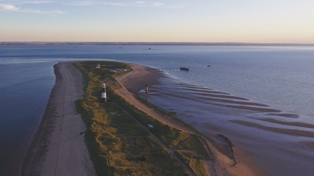 Flying the DJI Phantom 4 at Spurn Head