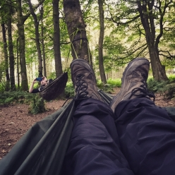 Hammock Camping with friends